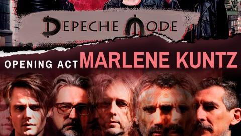 I Marlene Kuntz aprono ai Depeche Mode per Collisioni Festival 2018 – Barolo (CN) Lunedì 2 Luglio